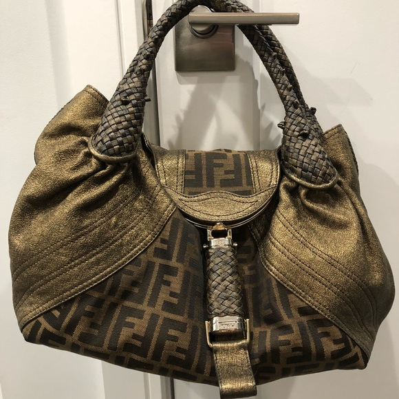 9c9a2df74677 Fendi Handbags - Fendi Spy Bag Limited Edition